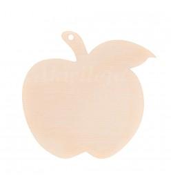 Bombka drewniana zawieszka jabłko 7cm