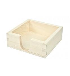 Pudełko pojemnik na podkładki