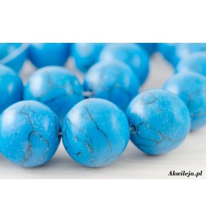 Turkus niebieski kula 14mm