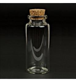Buteleczka szklana 30x70mm z korkiem