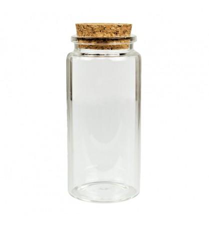 Buteleczka szklana 47x100mm z korkiem