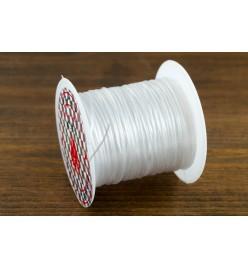 Żyłka gumka guma płaska elastyczna 1mm 10m transparent