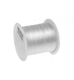 Żyłka gumka guma płaska elastyczna 1mm 12m transparent