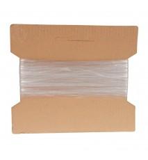 Gumka płaska elastyczna 4mm 20m transparent