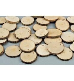Drewniane plastry krążki 30-40mm