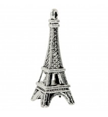 Zawieszka Paryż 3D Wieża Eiffla 10x25mm