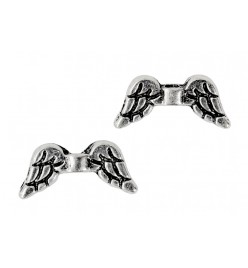 Przekładka łącznik skrzydła anielskie 7x15mm platyna
