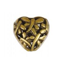 Metalowe serce 15x15mm