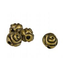 Koraliki róża 5mm 4szt.