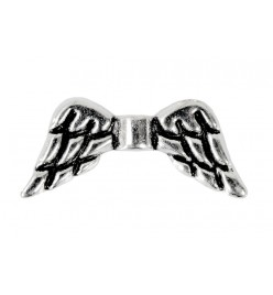 Przekładka łącznik skrzydła anielskie 9x19mm platyna