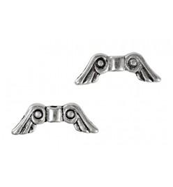 Przekładka łącznik skrzydła anielskie 5x15mm platyna