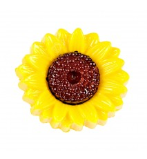 Guzik plastikowy słonecznik 15mm