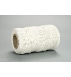 Sznurek bawełniany biały 2mm 100g 50m