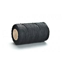 Sznurek bawełniany czarny 2mm 100g 50m