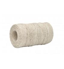 Sznurek bawełniany szary 2mm 100g 70m