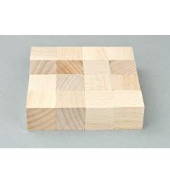 Kostka drewniana klocki surowe 20x20mm