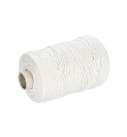 Sznurek bawełniany biały 3mm 200m