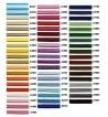 Sznurek sutasz PEGA 3mm 100% wiskoza wzornik kolorów