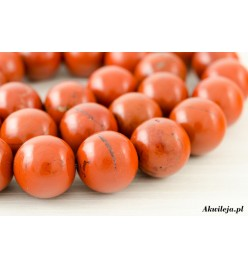 Jaspis czerwony kula 12mm