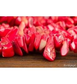 Koral czerwony kamyczki 5-20mm