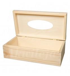 Chustecznik pudełko na chusteczki prostokątny otwierany